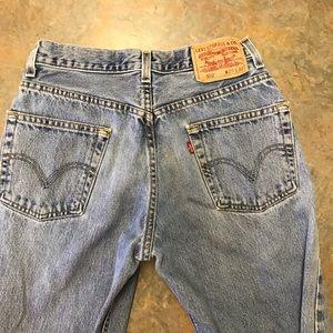 Men's Levi jeans 550